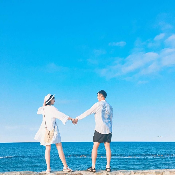 chụp ảnh cưới biển